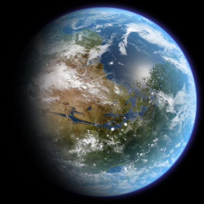 Terrafomed Mars by ittiz