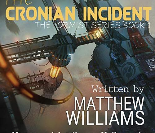 Tenth Review for The Cronian Incident's Audiobook!